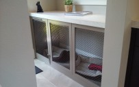Lake Mary, Grey Undercounter Dog Room